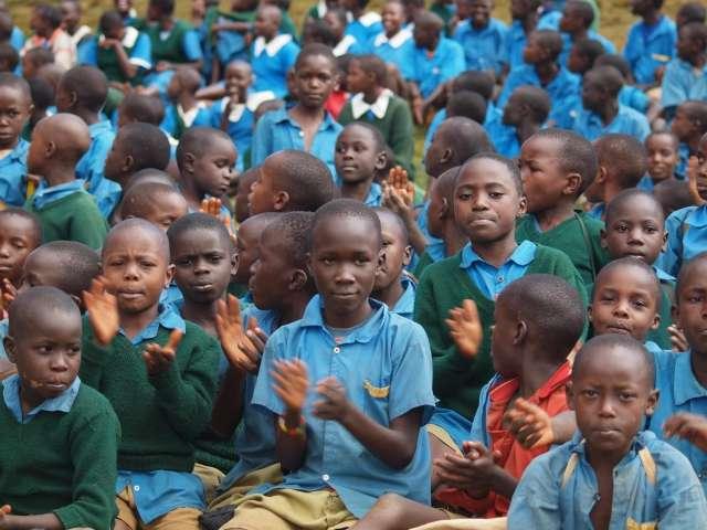 Keňské děti